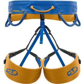 Climbing Technology Dedalo Arnés de Escalada XL, azul/amarillo